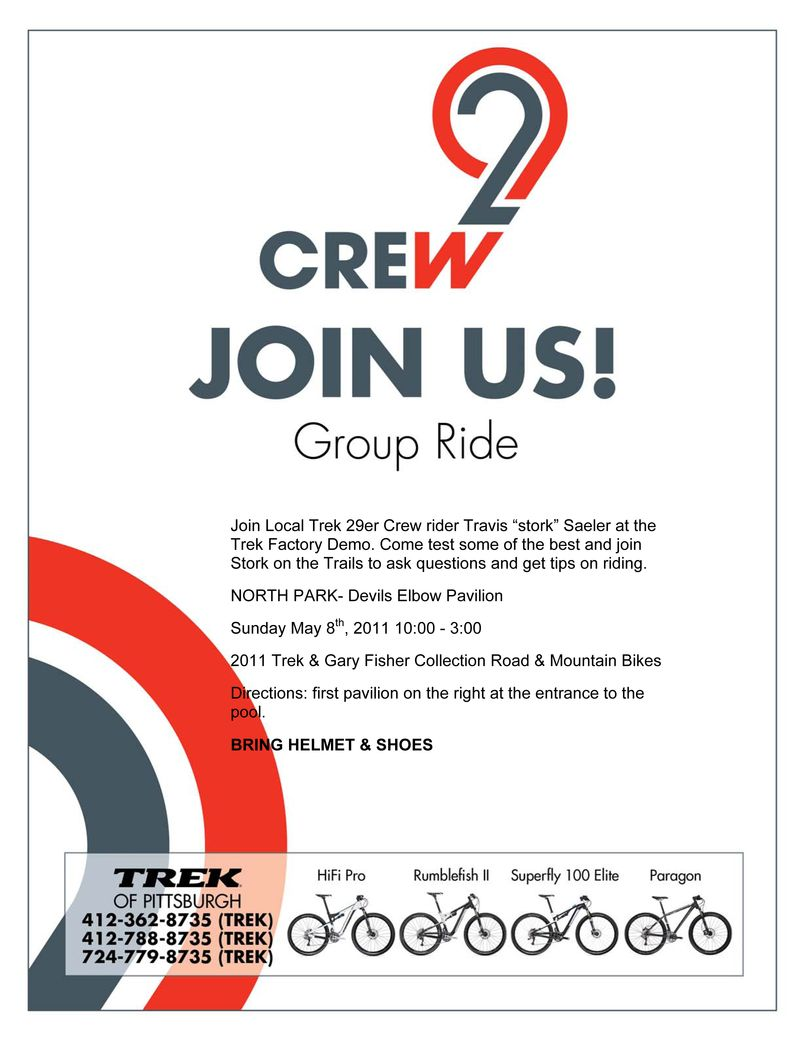 Trek Demo May 8th