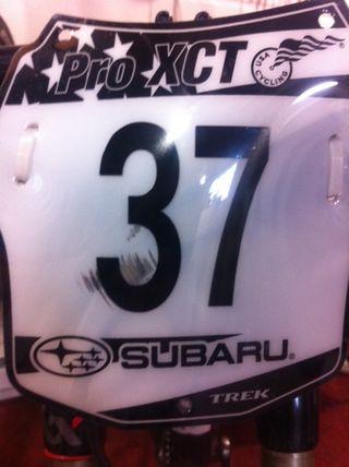 Subaru Cup Plate