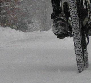 Snow tire 1
